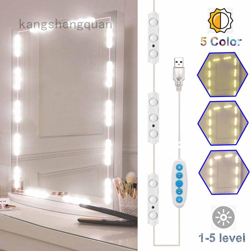 Modul Lampu Strip Led Usb Untuk Cermin, Diy Lampu Makeup