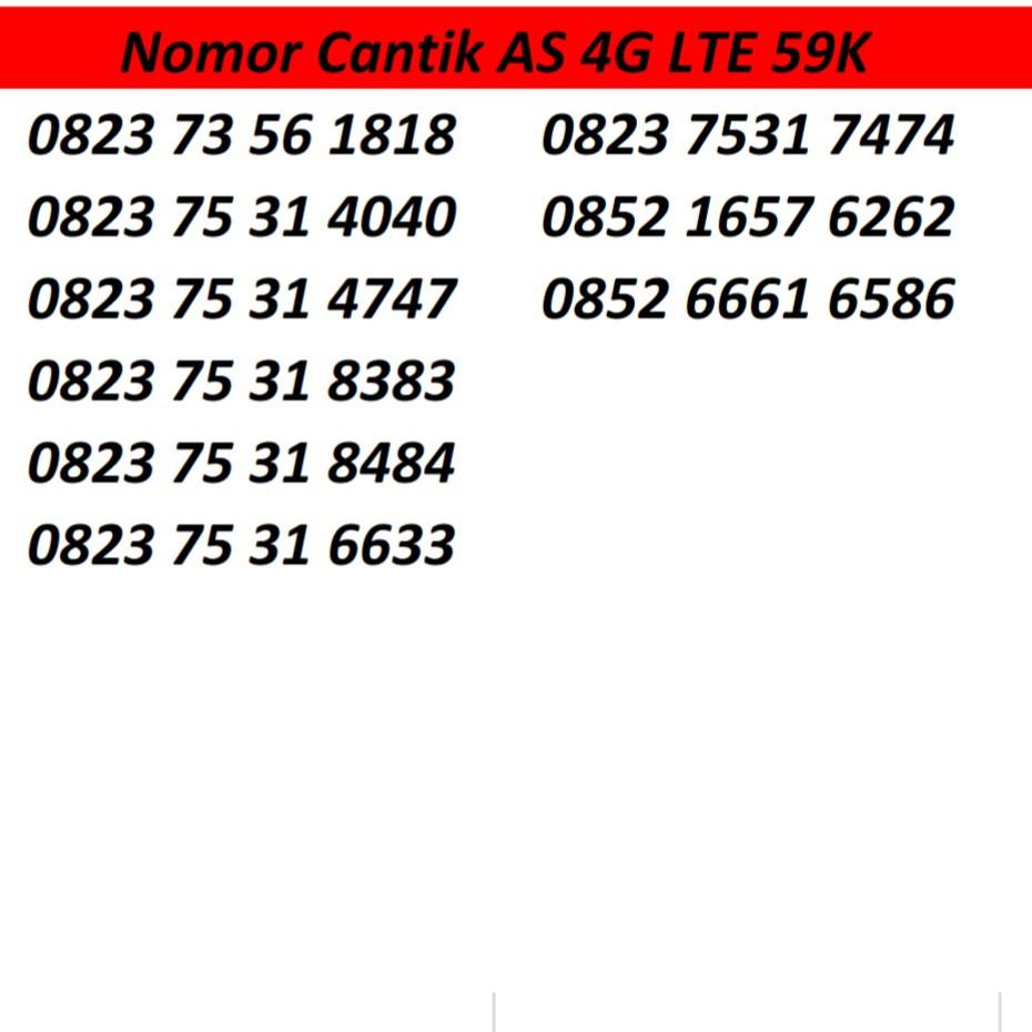 Katru perdana Nomor Telkomsel Simpati .