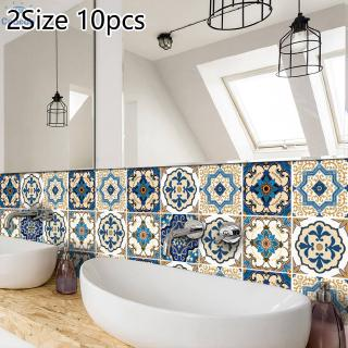 3d Self Adhesive Sticker Kitchen Wall Tiles Peel Stick Decoration For Bathroom Home Shopee Indonesia