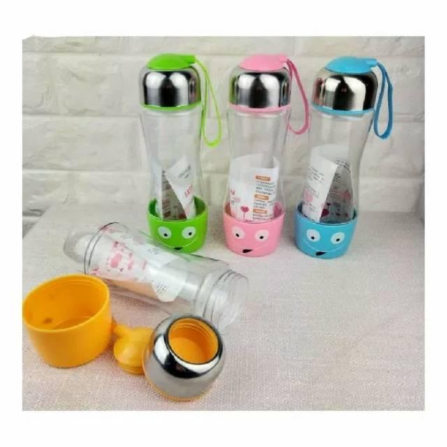 BRG-17000655 Botol Minum Anak karakter ada sedotan b8257 Keknei WATER BOTTLE 450 ml | Shopee Indonesia