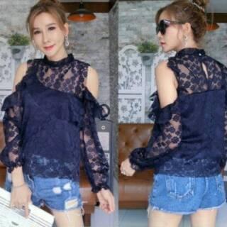 bf37141528369 Jasmine Top Import   Atasan Brukat   Blouse   Baju Bangkok   BKK   Baju  Murah   Summer Collections