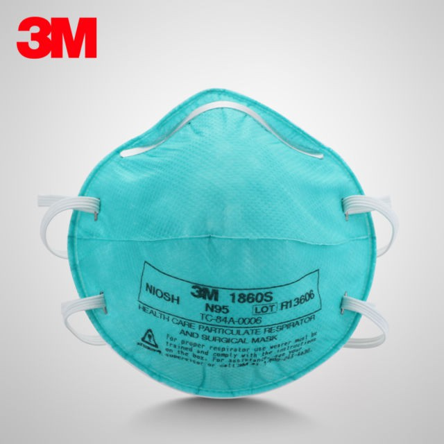 Health 1860 Particulate Care Mask Pcs Surgical 1 3m And Respirator