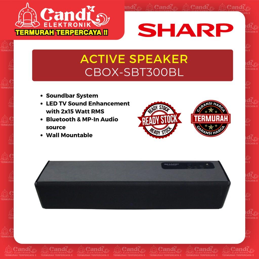 SHARP ACTIVE SPEAKER CBOX-SBT300BL