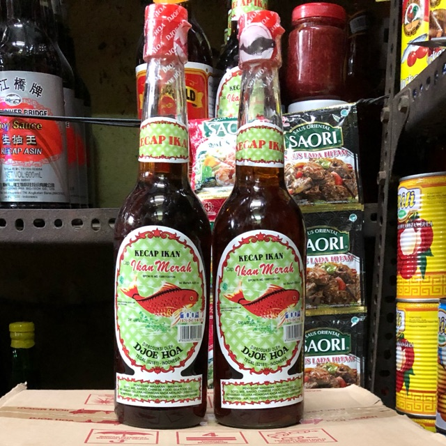 Djoe Hoa Kecap Ikan Cap Ikan Merah 620ml Shopee Indonesia