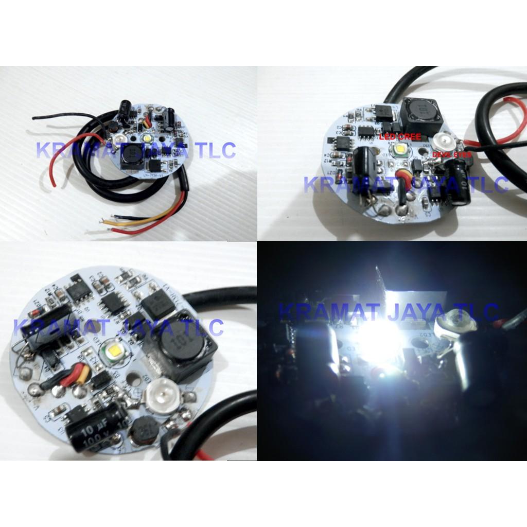 Lampu Utama Headlamp New Led 6 Sisi Rtd M02e 40 Watt Kipas Ac Dc Depan Mata Super Terang Putih Shopee Indonesia