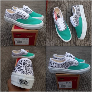 00c3565588 Sepatu Sneakers Kets Vans Authentic Tribal Tosca Premium BNIB Waffle IFC DT  FCC