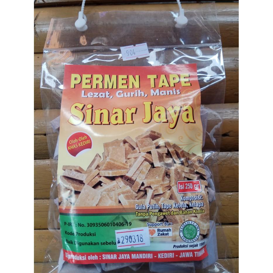 Makanan Khas Permen Tape 250gram Lezat Gurih Manis Shopee Indonesia