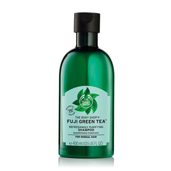 The Body Shop Hair Care Package Duo Fuji Green Tea Shampoo-1
