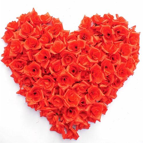Bayar Di Tempat 50 Tangkai Bunga Mawar Tiruan Untuk Dekorasi