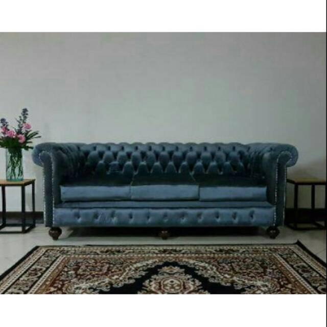 Jepara Sofa Mewah Chesterfield