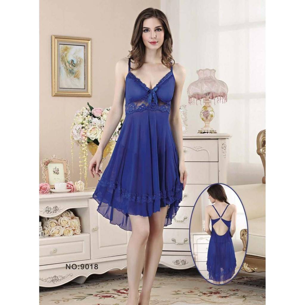Sexy Lingerie Elegan Baju Tidur Murah Pakaian Dalam Seksi Hadiah Model 7 Seserahan 71923106 Blue Shopee Indonesia