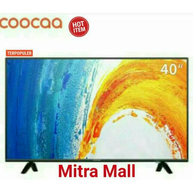 Tv Led Coocaa 40 Inch Full Hd Garansi 3 Tahun Panel 1 Tahun Spear Part