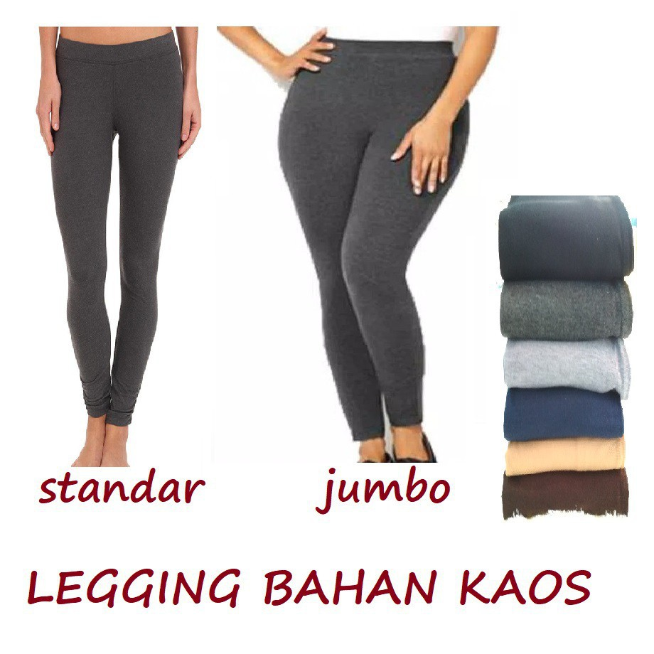 Celana Legging Bahan Kaos Shopee Indonesia