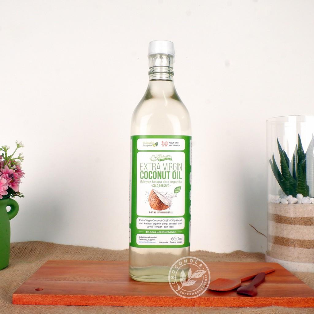 Konut Extra Virgin Coconut Oil Evco Vco 500ml Shopee Indonesia Organic Minyak Kelapa Organik Natura 500 Ml