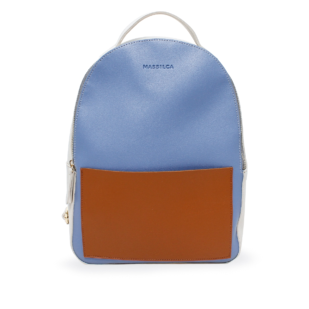 Andakara Massilca Arini Backpack Blue Shopee Indonesia Exsport Callie 0100 Tas Ransel Wanita