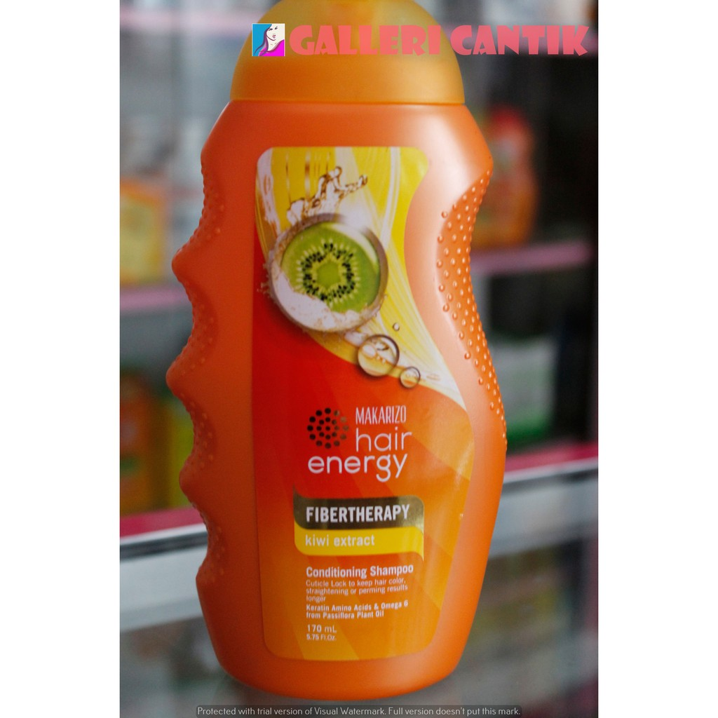 170ml Makarizo Hair Energy Fibertherapy Conditioning Shampoo Shampo 330ml Shopee Indonesia