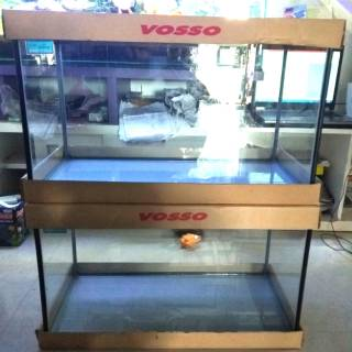 Aquarium Fiber Glass Merk Gex 60cm Khusus Gojek Atau Grab