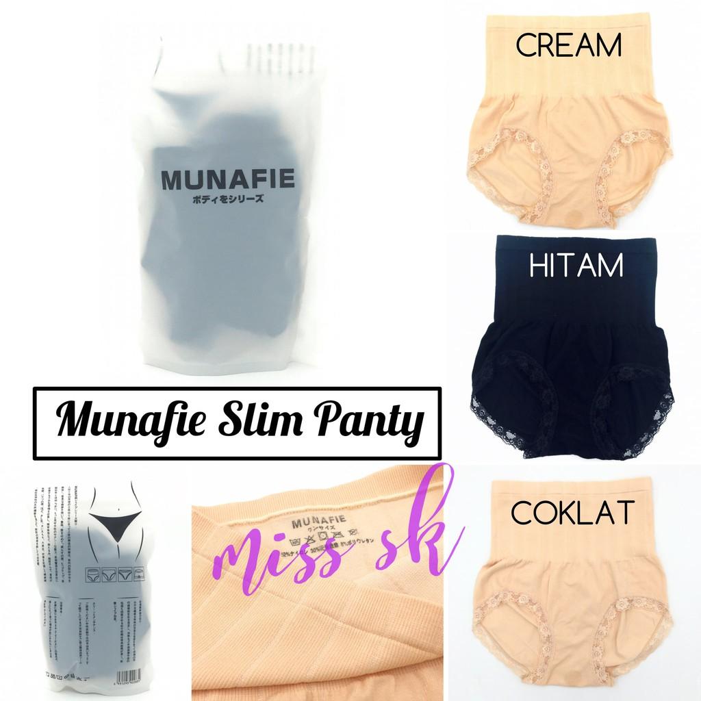 Munafie / Munafie Japan / Munafie Slim Panty Original /Celana Slim Ori | Shopee Indonesia