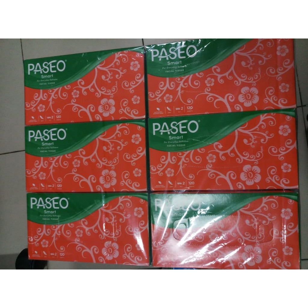 Tissue Tisu Paseo Smart 250 Sheets Shopee Indonesia Travel Pack 50 2 Ply
