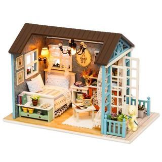 CUTE ROOM Miniatur Rumah Boneka DIY Doll House Wooden ...