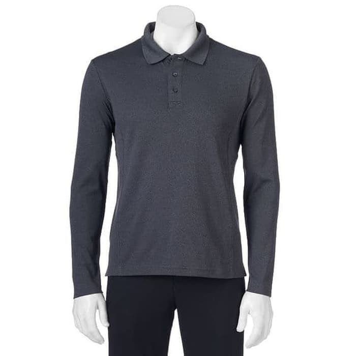 Polo Tshirt Men Golf FILA LURID GREY Original - Baju GOLF Ori Branded  35f350305e