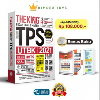 The King Bedah Soal & Materi TPS UTBK 2021 HOTS Free ...