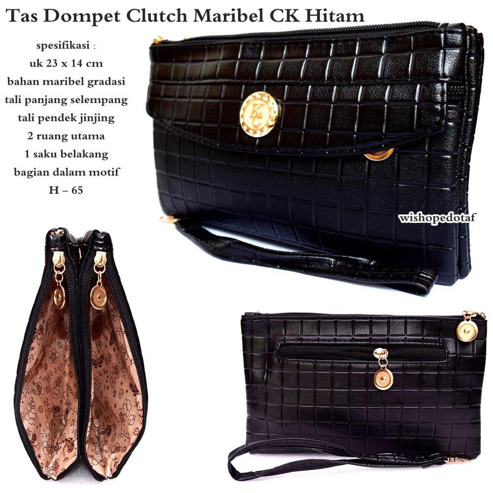 Tas Wanita Dompet Clutch Maribel Ck Shopee Indonesia Elegan Fashion Gk Tosca