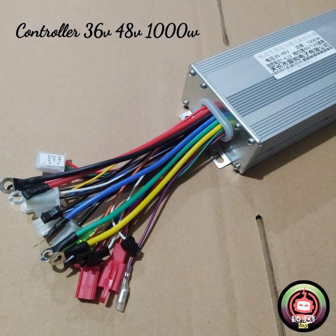 denalim55 Controller 36v 48v 1000w bldc brushless kontroler selis motor listrik
