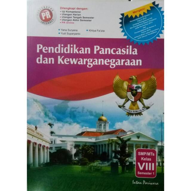 Lembar Kerja Siswa Pr Pkn Smp Kls Viii Semester K13 Shopee Indonesia