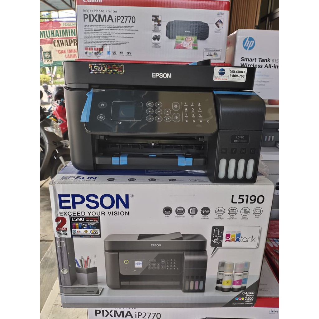 Epson Printer L5190 Garansi Resmi Epson Epson L5190 Printer Epson Shopee Indonesia
