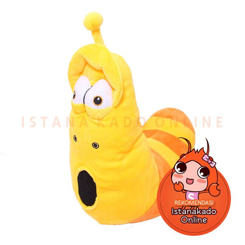 Boneka Ulat Serial Kartun Lucu Larva Kuning Yellow Size L - Kuning B-829  dab1f617e3
