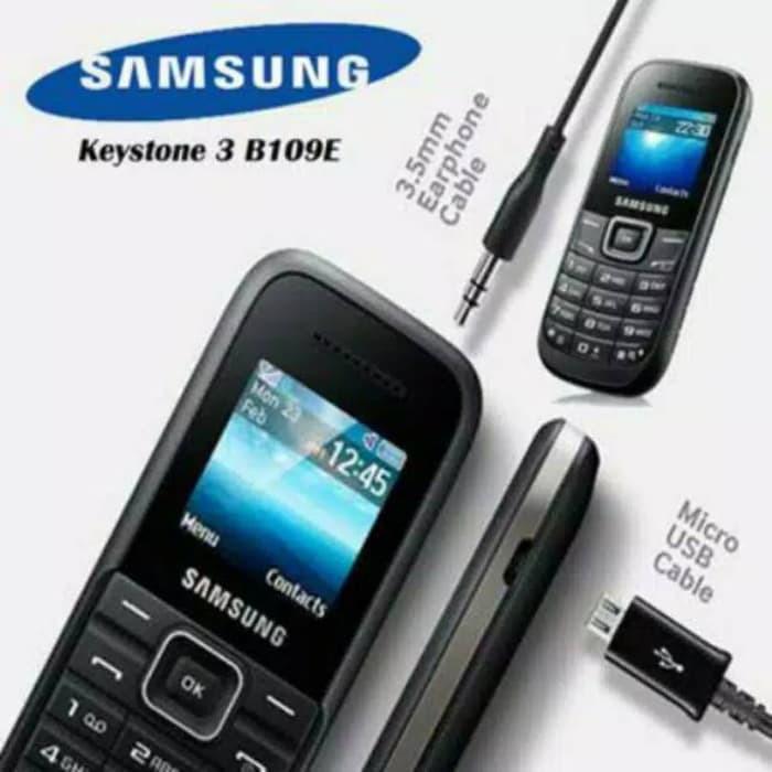 Samsung Keystone 3 B-109 Single SIM GSM, Segel, Garansi Resmi