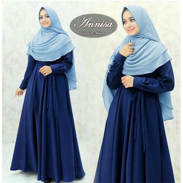 ANNISA SYARI - Gamis Syari Maxidress Terbaru Fashion Wanita Muslim Terkini  Baju Pesta Maxmara Armani  2c90361a11