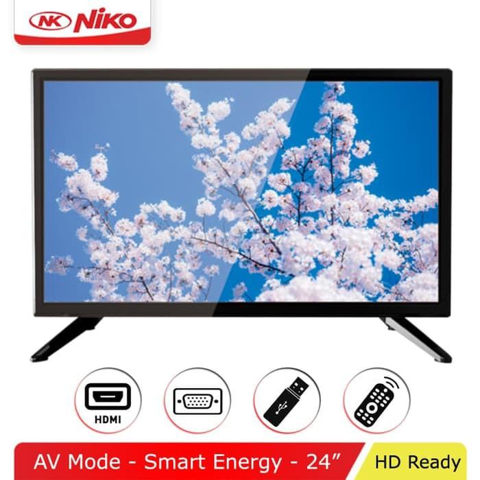 Niko NK-24 Gamma LED TV 24 Inch HD USB Movie