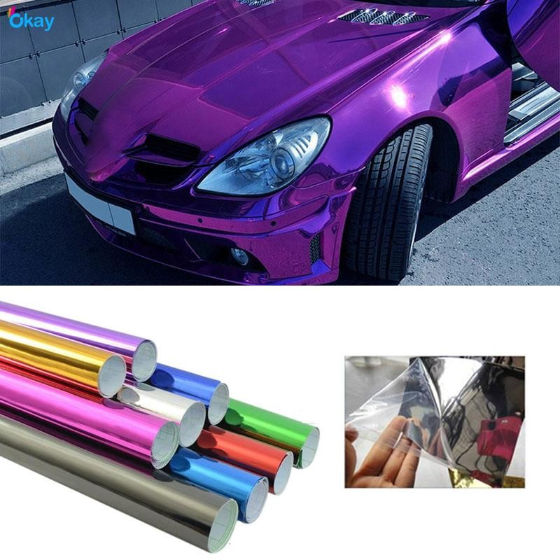 Car Matte Electroplating Satin Chrome Car Film Car Wrap Vinyl Adhesive Film Wrap