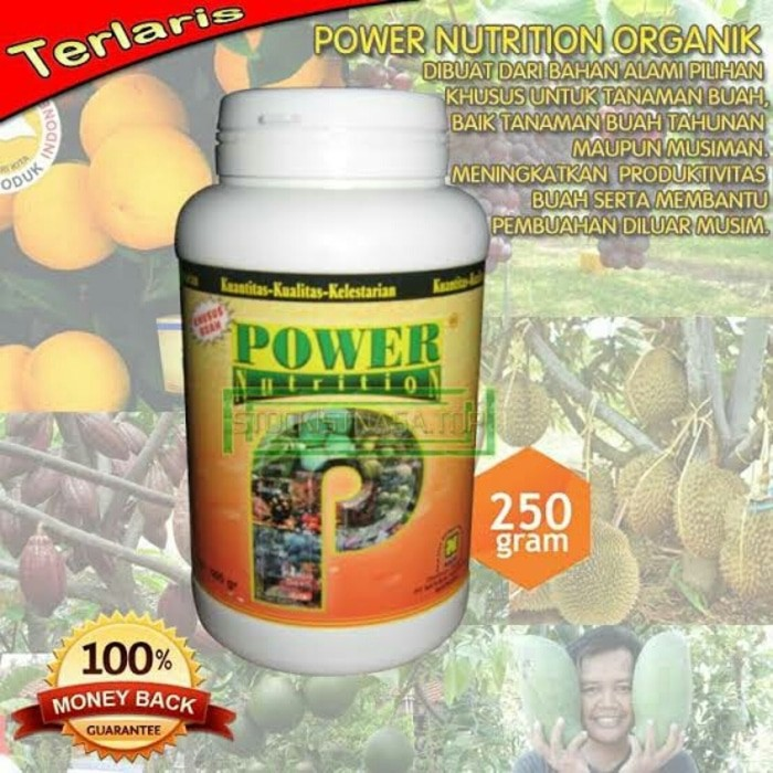 POWER NUTRITION 500gr [POWER] PUPUK ORGANIK NASA KHUSUS TANAMAN BUAH | Shopee Indonesia