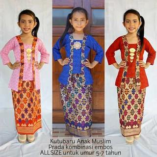 Setelan Kebaya Fashion Bayi Anak Pakaian Muslim Temukan Harga