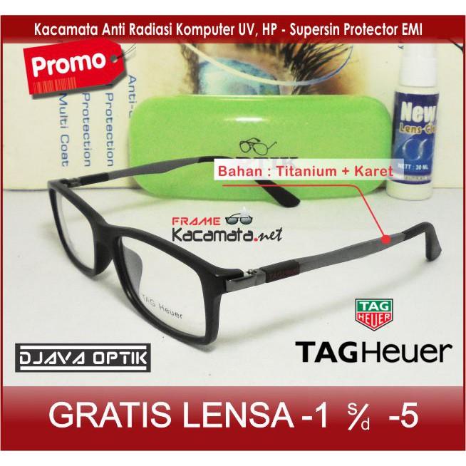Kacamata Puma Sporty + Lensa Minus Antiradiasi 8f9872cf45