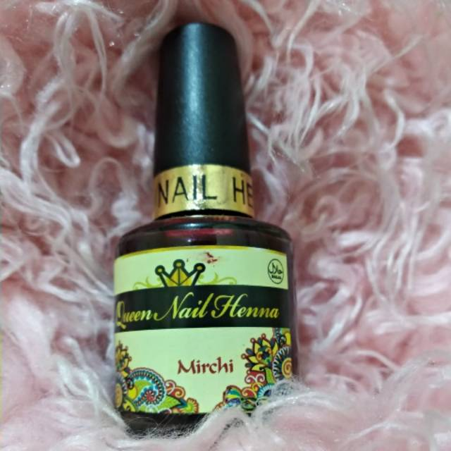 Queen Nail Henna Shopee Indonesia