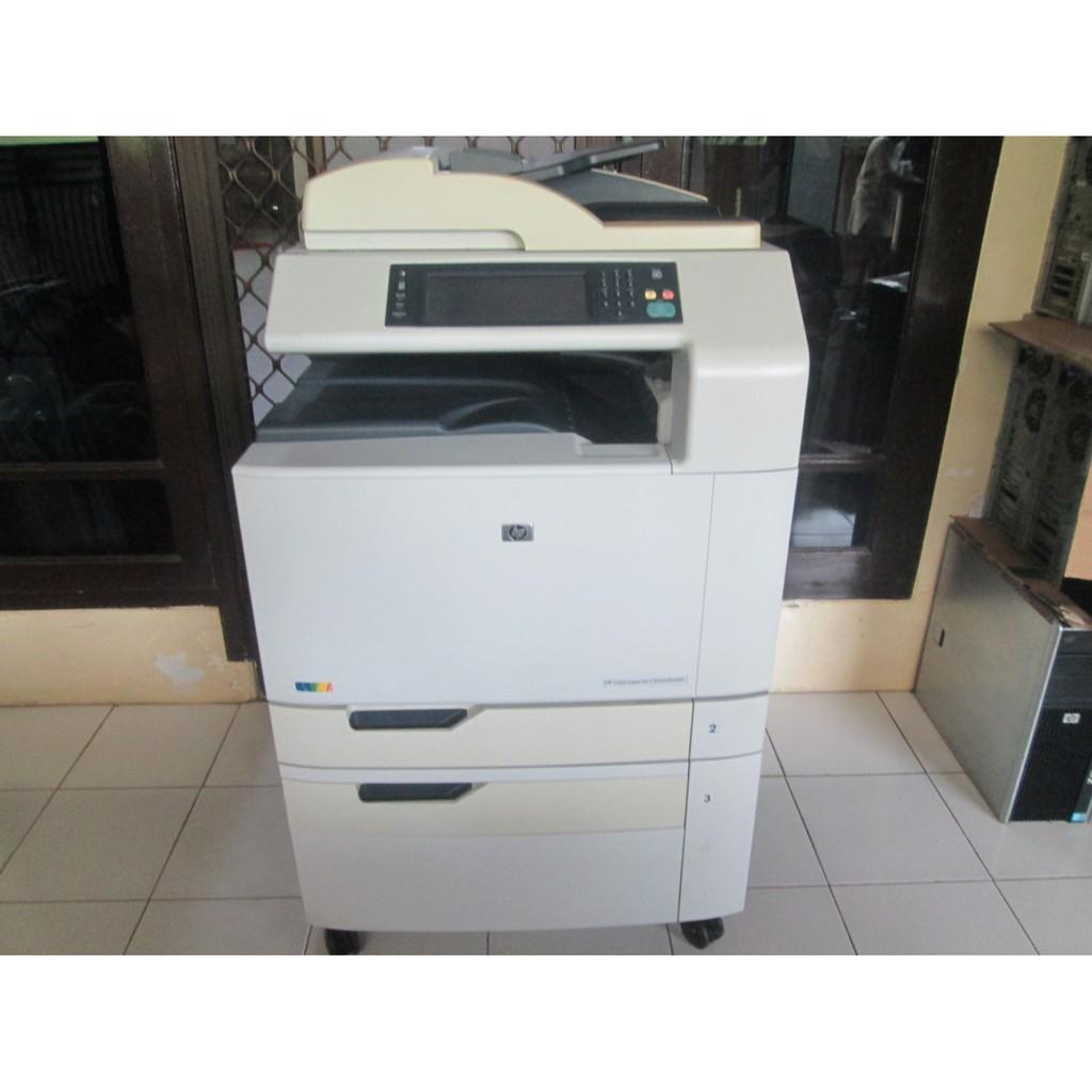 Printer Laser A3 Warna Hp Color Laserjet CM6040 MFP Siap Pakai