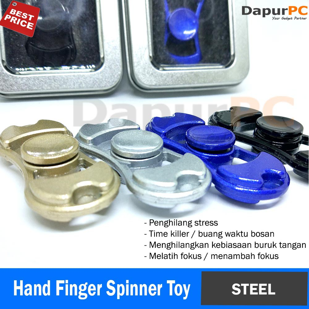 Adhd Wheel Spinner Metal Hand Gyro Alloy Stress Bearing Fingertip Focus Figet | Shopee Indonesia