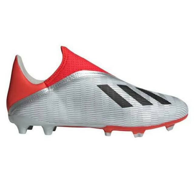 Sepatu Bola Adidas X 19 3 Ll Fg Silver Ef0597 Bnib Shopee Indonesia