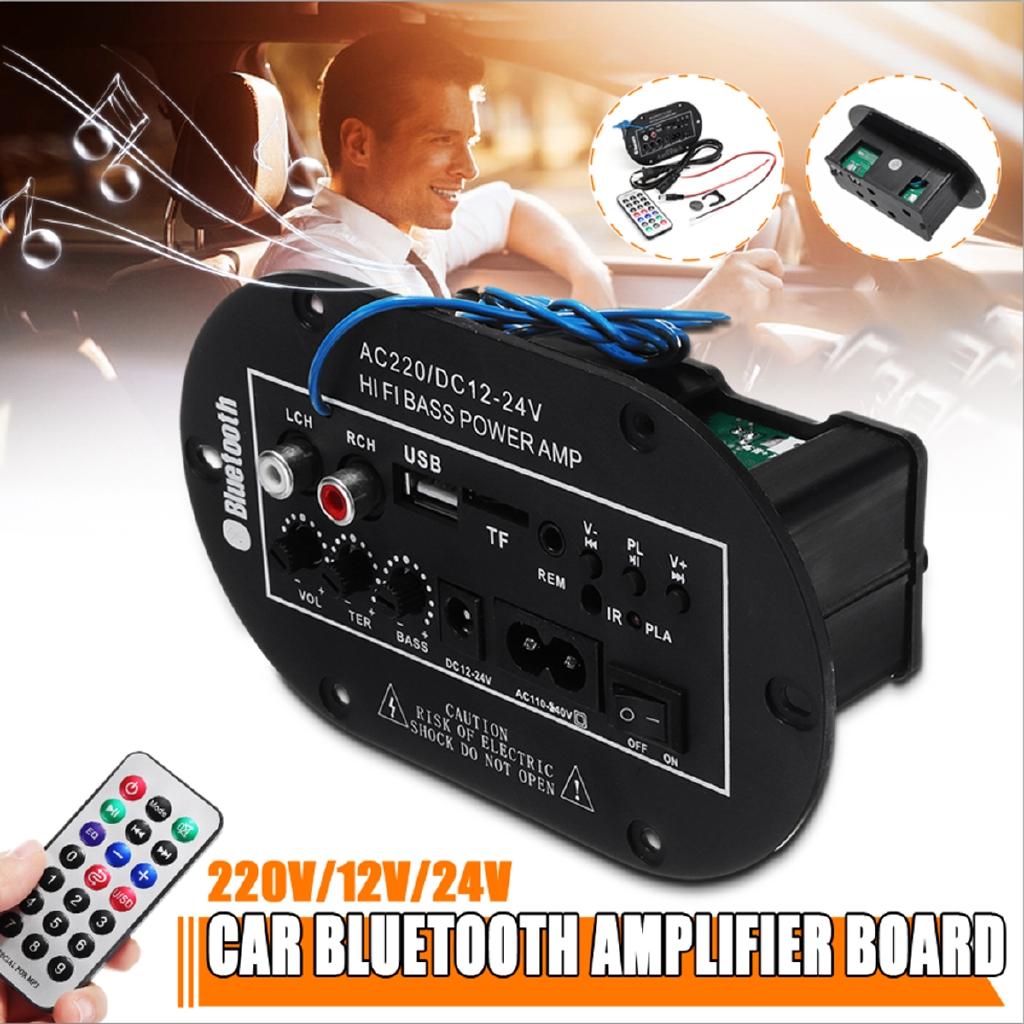 100W Amplifier Board Audio Bluetooth Subwoofer USB Subwoofer DIY Amplifier