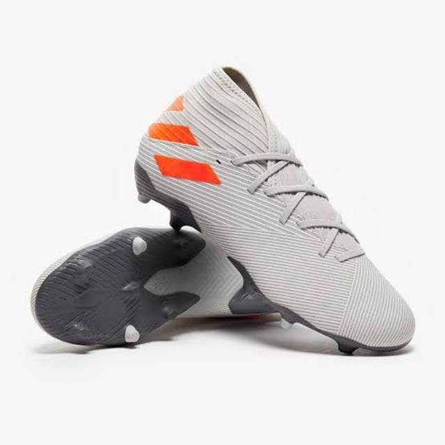 Sepatu Bola Adidas Nemeziz 19 3 Fg Two Grey Shopee Indonesia