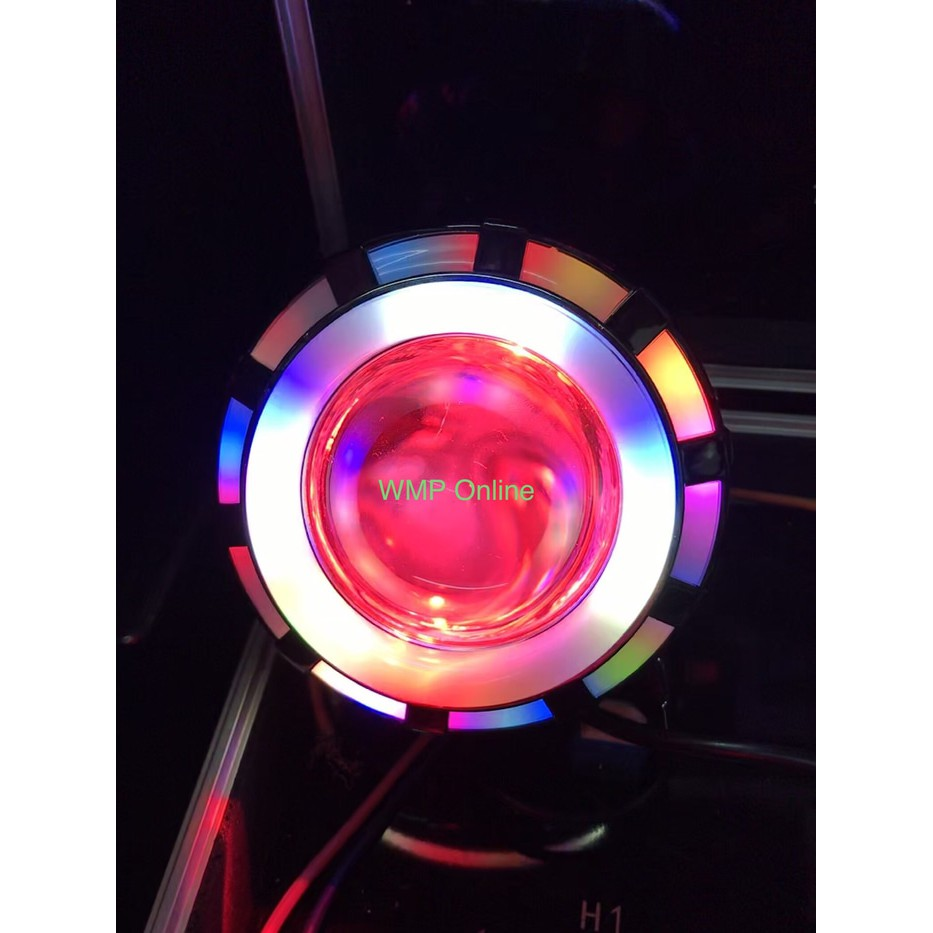 Lampu Projie U26R Mini RRB Rainbow 3 Inch Angel Bulat Running WMP-0592   Shopee Indonesia