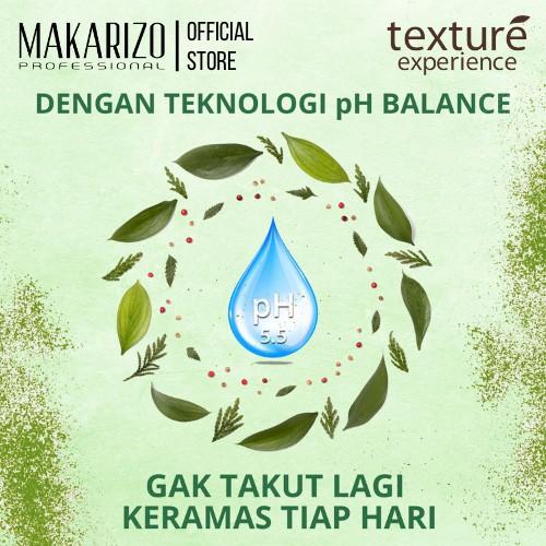 Makarizo Professional Texture Experience Shampoo Green Tea Butter 250 ml-2