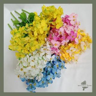 artificial flower bunga summer jasmine palsu plastik