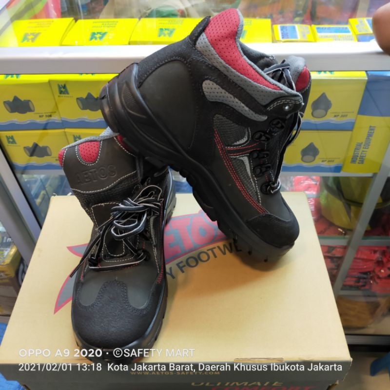 Safety Shoes AETOS KRYPTON Berkualitas - Sepatu Safety AETOS KRYPTON Original