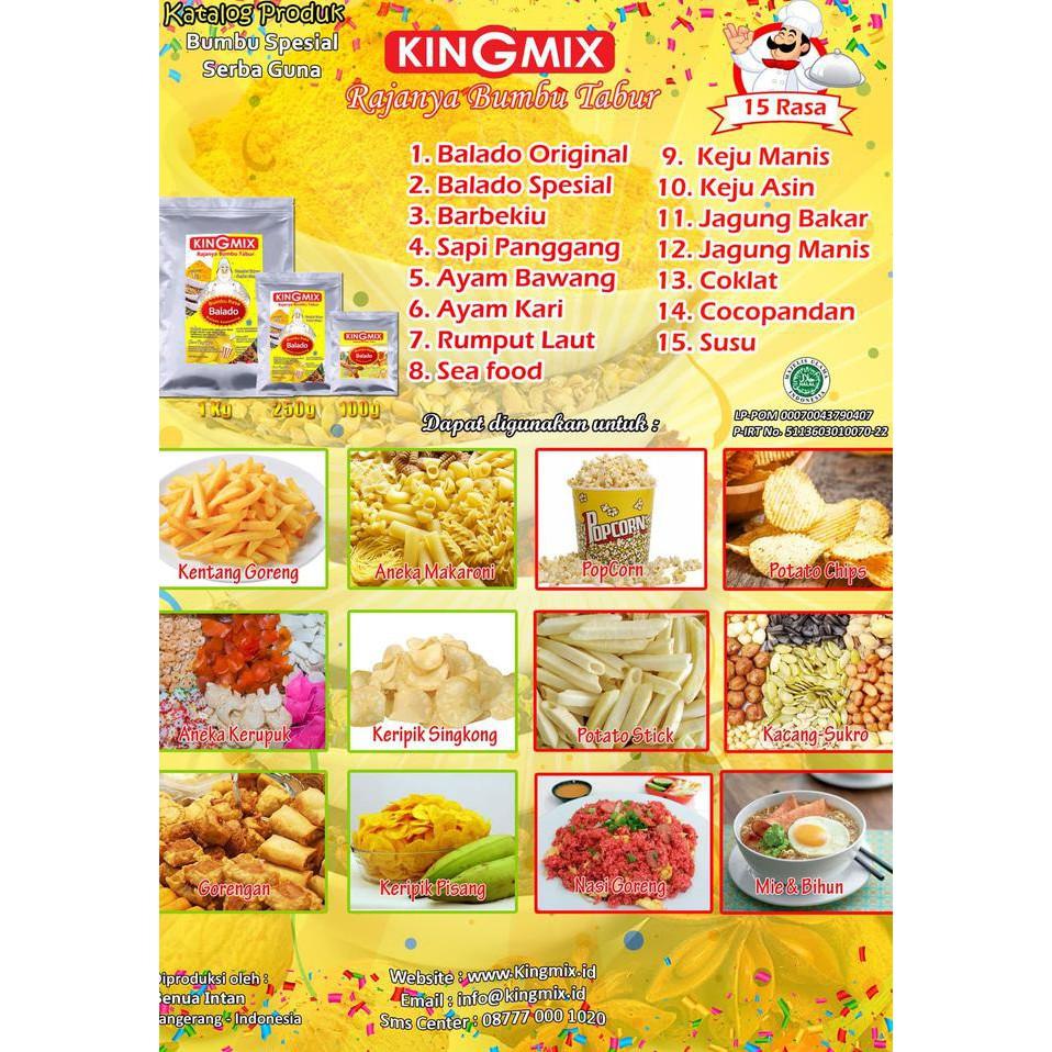 Flash Sale Bumbu Tabur Rasa Balado Pedas Manis 100gr Makaroni Keripik Pisang By Mulqi Snack Shopee Indonesia