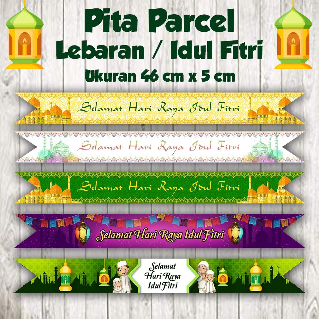 Label Parcel Pita Parcel Selamat Hari Raya Idul Fitri Shopee